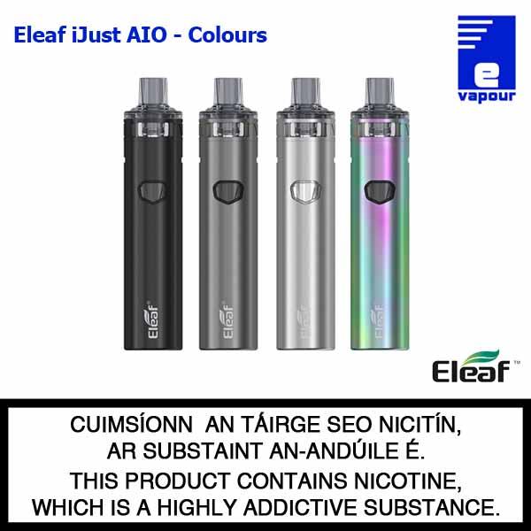 Eleaf iJust AIO - All Colours