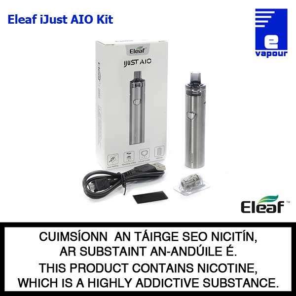 Eleaf iJust AIO - Kit Contents