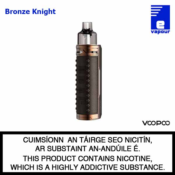 VooPoo Drag X Pod Starter Kit - Bronze Knight