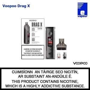 VooPoo Drag X Pod Starter Kit - Packaging View